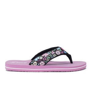 Animal Women's Swish Upper AOP Flip Flops - Dusky Pink