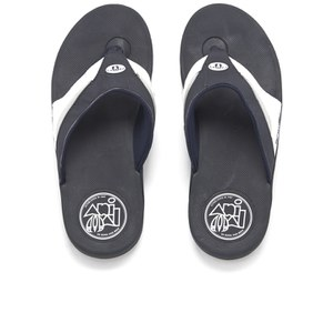 Animal Men's Fader Premium Flip Flops - Navy