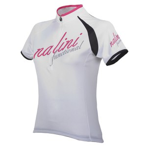 Nalini Pink Label Women's Siele Short Sleeve Jersey - White