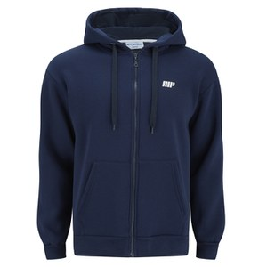 Myprotein Men's Zip Up Hoodie – Navy