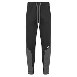 Spodnie z zamkiem Myprotein Men's Panelled Slimfit Sweatpants with Zip - kolor czarny