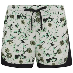 nümph Womens Kirsten Printed Shorts - Subtle Green