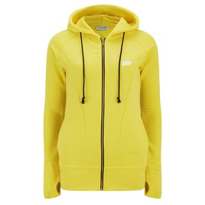 Myprotein Women's Zip Up Hoodie – Yellow