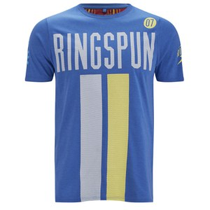 Ringspun Men's Daytona Printed T-Shirt - Royal Marl