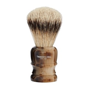 Truefitt & Hill Wellington Super Badger Shave Brush - Faux Horn
