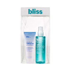 bliss Fabulous Makeup Cleanser Toner Duo (Worth £45.00)
