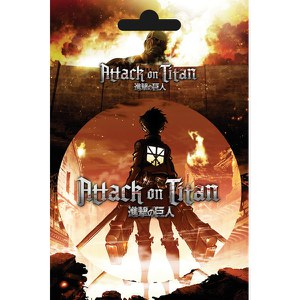 Attack on Titan Key Art- Sticker