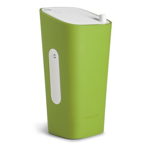 Sonoro Cubo Go New York Portable Bluetooth Speaker - White/Green