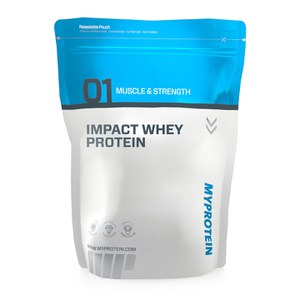 Impact Whey Protein - Strawberry Cream 1KG