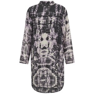 Religion Women's Hollow Kaftan Dress - Smokey Grape
