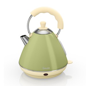 Swan SK261030GN Pyramid Kettle - Green - 2L
