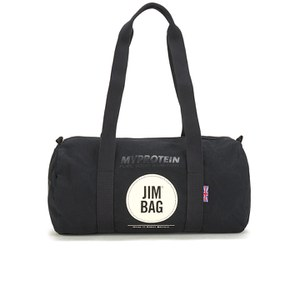 Myprotein Jim Bag Canvas Barrel Bag - Black