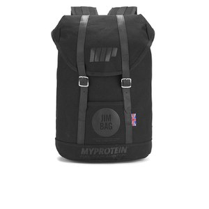 Myprotein Jim Bag Canvas Ryggsäck - Svart