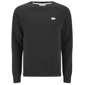 Myprotein Men's Crew Neck Sweatshirt – Black