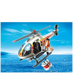 Playmobil Coast Guard Fire-Fighting Helicopter (5542)