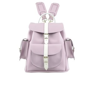 Grafea Hari Backpack - Viola Lilac/White
