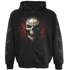 Spiral Men's GAME OVER Hoody - Black -