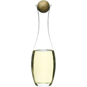 Sagaform Wine/Water Carafe With Oak Stopper