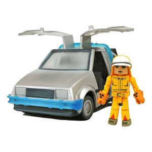 Diamond Select Back to the Future II Time Machine Minimates Action Figure