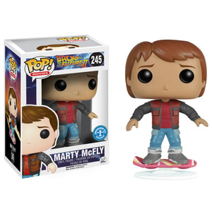 Marty McFly ZBOX exclusive Pop! Vinyl Figure