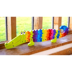 Orange Tree Toys Giant Crocodile Puzzle