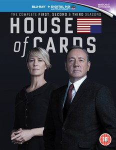 House Of Cards - Seasons 1-3