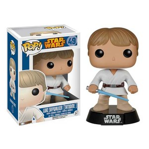 Star Wars Tatooine Luke Skywalker Funko Wackelkopf Pop! Vinyl Figur