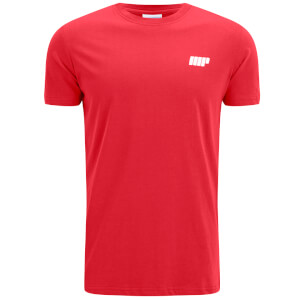 Myprotein Men's Longline Short Sleeve T-Shirt, Red