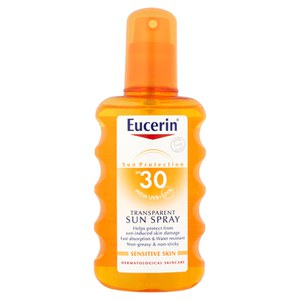 Eucerin® Sun Protection SPF 30 Transparentes Sonnenspray (200ml)
