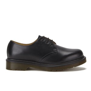 Dr. Martens Originals 1461 PW 3-Eye Smooth Leather Gibson Shoes - Black