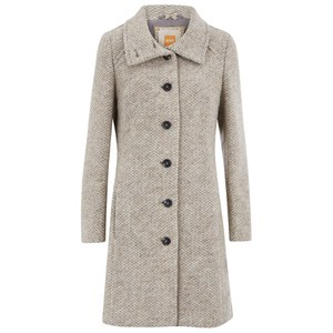 Boss Orange Womens Okirana2 Coat - Medium Grey