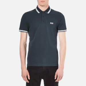 BOSS Green Men's Paddy Basic Polo Shirt - Navy