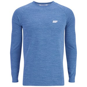 Myprotein Men's Performance Long Sleeve Top - Blue Marl
