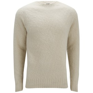 YMC Men's Geelong Brushed Wool Knitted Jumper - Exclusive to Coggles - Cream