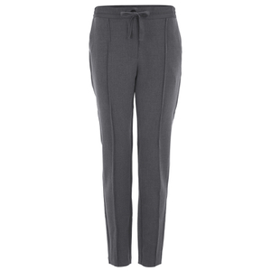 Custommade Women's Ama Pants - Dark Grey Melange