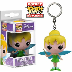 Llavero Figura Pocket Pop! Vinyl Disney - Campanilla