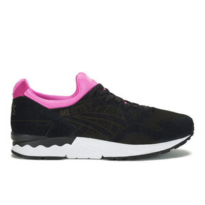 Asics Men's Gel-Lyte V LC Trainers - Black