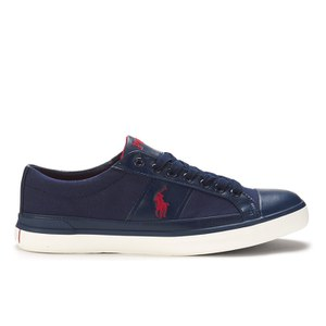 Polo Ralph Lauren Men's Churston-Ne Canvas Trainers - Newport Navy