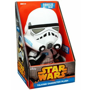 Star Wars Stormtrooper Premium Medium Talking Plush Figure