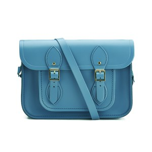 The Cambridge Satchel Company 11 Inch Classic Satchel - Coastal Blue