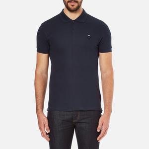 J.Lindeberg Men's Rubi Short Sleeve Polo Shirt - Navy