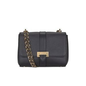 Aspinal of London Women's Lottie Bag - Black Pebble