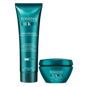 Kérastase Resistance Therapiste duo shampooing (250ml) et masque (200ml)