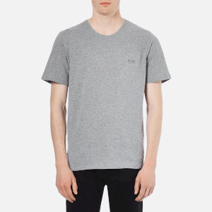 BOSS Hugo Boss Men's Crew Neck Small Logo T-Shirt - Grey