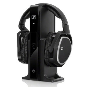 Sennheiser RS 165 Surround Sound Wireless Headphones with Multi-Purpose Transmitter
