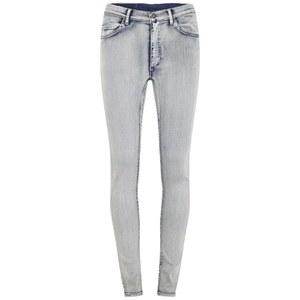 Cheap Monday Women's Second Skin Super Stretch High Rise Skinny Jeans - Super Worn