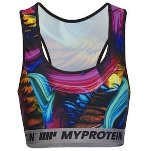 Myprotein Naisten Printed Sports Bra - Psychedelic Swirl