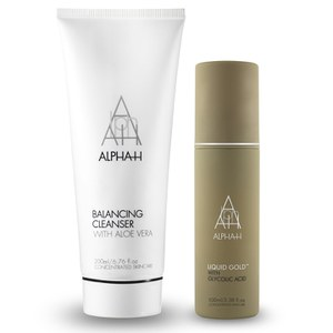 Alpha-H Perfect Partners Duo (Balancing Cleanser and Liquid Gold) - Worth £58.50
