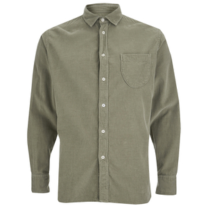Universal Works Men's Classic Long Sleeve Shirt - Green