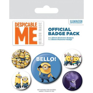 Despicable Me Variety - Badge Pack